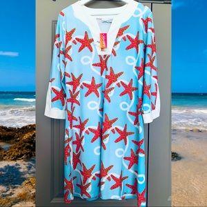 Sea Star UV Protection Tunic Dress/Coverup